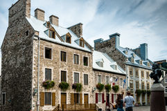 Century houses in Place Royale Royalty Free Stock Image