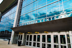 Century Link Convention Center Omaha Nebraska. Exterior view of the Century Link Convention Center in downtown Omaha which is host to many concert events and Stock Photo