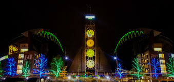 Century Link Field formerly Qwest Field Feb 2015 Royalty Free Stock Images