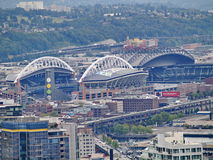 Century Link Field stadium in Seattle Royalty Free Stock Image