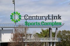 Century Link Sign at Hammond Stadium Royalty Free Stock Images
