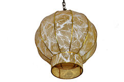 Century-old chandelier. The presence of the first chandelier with electricity from emerging Stock Images