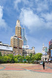 Century Square in Nanjing East Road, Shanghai, China Stock Image