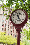 Century Square Street Clock, Seattle, WA Royalty Free Stock Image