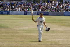 Century for Sussex against Australia Royalty Free Stock Photos