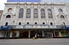 Century Theatre. This is the Century Theatre located in the Lincoln Park neighborhood in Chicago, Illinois.  The theater open on July 30, 1925 as the Diversey Stock Photo