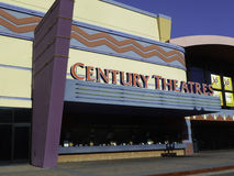 Century Theatres. Are a chain of movie theaters which operate in the western United States. In 2006 it was acquired by Cinemark Theaters from Plano, Texas Stock Image