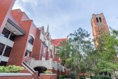Century Tower and University Auditorium at the University of Flo Royalty Free Stock Image