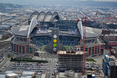 CenturyLink领域,西雅图,华盛顿 免版税库存图片