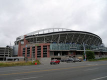 CenturyLink Field on a cloudy day Stock Image