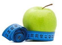 centymetr jabłczana zieleń Obrazy Royalty Free