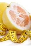 centymetra grapefruit Zdjęcia Royalty Free