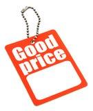 ceny egzemplarza etykiety przestrzeni Obrazy Stock