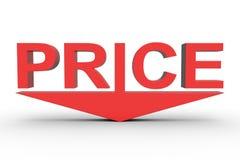 Ceny redukcja Obrazy Stock
