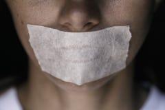 Cenzura w współczesnym świacie fotografia stock
