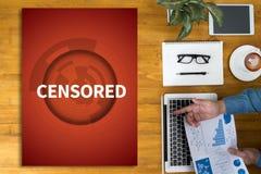 cenzurujący obraz royalty free