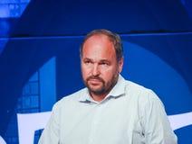 CEO举足轻重的保罗Maritz做报告在EMC世界2014年 免版税图库摄影