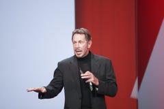 CEO του Oracle Larry Ellison στοκ φωτογραφία