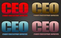 CEO Immagine Stock