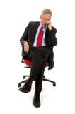 CEO addormentato Fotografie Stock Libere da Diritti