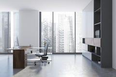 CEO-Büroinnenraum stockfotos