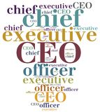 CEO. Chief executive officer. Royalty Free Stock Image