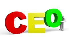 CEO - Chief Executive Officer Stock Images