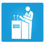 CEO, chief executive officer Royalty Free Stock Images