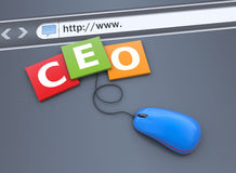 Ceo concept Stock Images