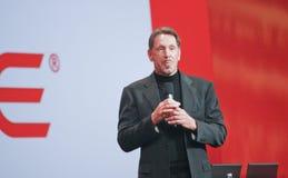 CEO d'Oracle Larry Ellison Image stock
