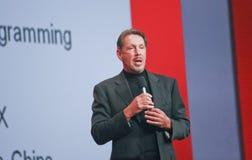 CEO d'Oracle Larry Ellison Images stock