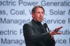 CEO d'Oracle Larry Ellison image libre de droits