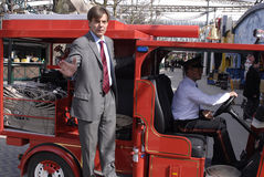 CEO DO JARDIM DE DINAMARCA LARS LIEBST TIVOLI Fotos de Stock Royalty Free