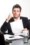 CEO - Geschäftsmann - getrennt Lizenzfreie Stockfotos