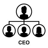 Ceo icon Royalty Free Stock Image