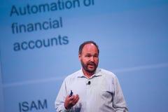 CEO Kluczowy Paul Maritz robi mowie przy EMC światem 2014 Fotografia Royalty Free