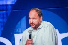 CEO Kluczowy Paul Maritz robi mowie przy EMC światem 2014 Obraz Royalty Free