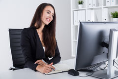 CEO in love Royalty Free Stock Photo