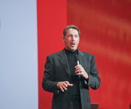 CEO of Oracle Larry Ellison Stock Photos