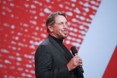 CEO of Oracle Larry Ellison Stock Photo
