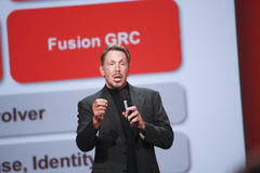 CEO of Oracle Larry Ellison Royalty Free Stock Image