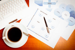 Ceo`s Desk Stock Photography