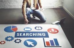CEO Search Engine Optimisation, das Konzept sucht stockfotos