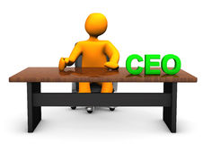 CEO Table Stock Photography