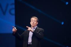 CEO VMware Pat Gelsinger makes speech at EMC World 2014 Stock Photos