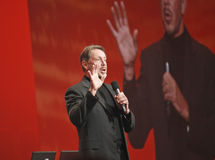 CEO von Oracle Larry Ellison Lizenzfreies Stockfoto