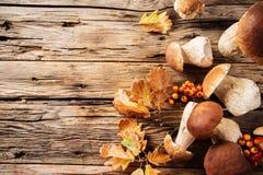 CEP на деревянном столе Стоковая Фотография RF