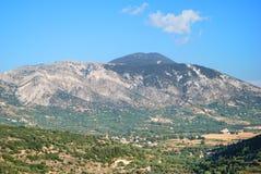 Cephalonia inland valley Stock Photos