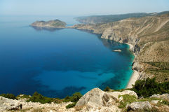 Cephalonia, Ionian island, Greece Royalty Free Stock Images