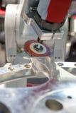 Cepillado del metal Imagen de archivo